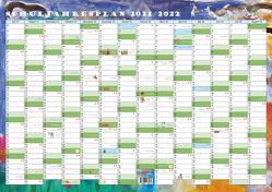 GSV Wandkalender – Schuljahr – Kalenderposter 2021/22 (DIN A2 Poster)