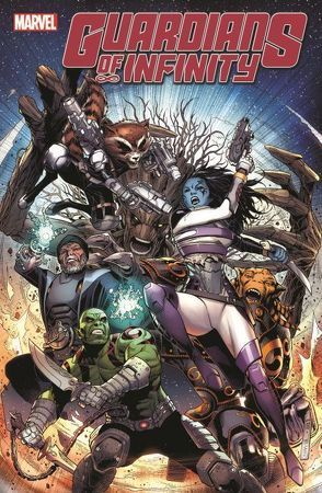 Guardians of Infinity von Abnett,  Dan, Cheung,  Jim