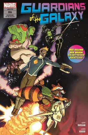 Guardians of the Galaxy von Duggan,  Gerry, Irving,  Frazer, Kuder,  Aaron, Rösch,  Alexander, Samnee,  Chris