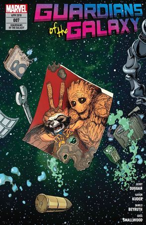 Guardians of the Galaxy von Beyruth,  Danilo, Bowers,  Chad, Duggan,  Gerry, Hawthorne,  Mike, Hawthrone,  Mike, Kuder,  Aaron, Rösch,  Alexander, Sims,  Chris, Smallwood,  Greg, To,  Marcus