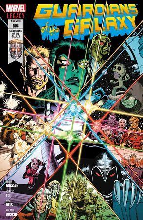 Guardians of the Galaxy von Boschi,  Roland, Duggan,  Gerry, Reis,  Rod, Rösch,  Alexander, To,  Marcus