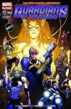 Guardians of the Galaxy von Bendis,  Brian Michael, Coipel,  Olivier, Gaiman,  Neil, Pichelli,  Sara, Schiti,  Valerio