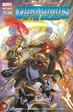 Guardians of the Galaxy von Bendis,  Brian Michael, McGuinness,  Ed