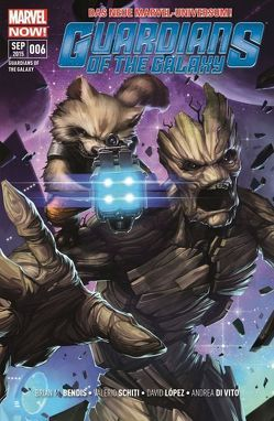 Guardians of the Galaxy von Bendis,  Brian Michael, Schiti,  Valerio