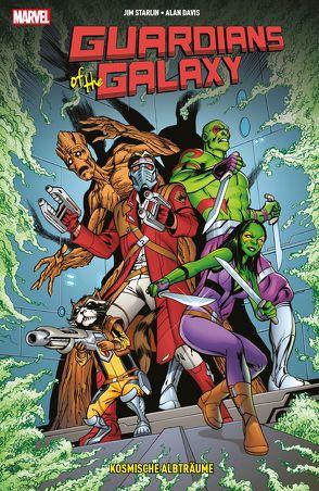 Guardians of the Galaxy: Kosmische Albträume von Davis,  Alan, Rösch,  Alexander, Starlin,  Jim