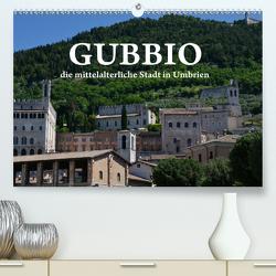 Gubbio – die mittelalterliche Stadt in Umbrien (Premium, hochwertiger DIN A2 Wandkalender 2020, Kunstdruck in Hochglanz) von van Wyk - www.germanpix.net,  Anke