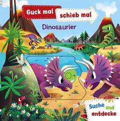 Guck mal, schieb mal! Suche und entdecke – Dinosaurier von Chorkung, Ziegler,  Anika