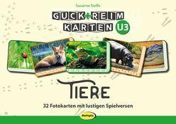 Guck-ReimKarten U3 – TIERE von Robitzky,  Marc, Steffe,  Susanne
