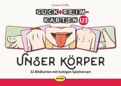 Guck+Reim-Karten: Unser Körper von Kühler,  Anna-Lena, Steffe,  Susanne