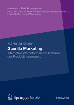 Guerilla Marketing von Krieger,  Kai Harald
