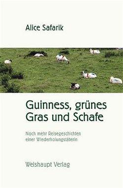 Guinness, grünes Gras und Schafe von Safarik,  Alice