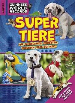 Guinness World Records Super Tiere Vol. 1 von Guinness World Records Ltd,  .