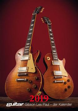 Guitar Gibson Les Paul – der Kalender 2019