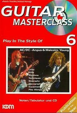 Guitar Masterclass / Guitar Masterclass Band 6 von Morenga,  Michael, Piatkowski,  Pitti, Potschka,  Potsch
