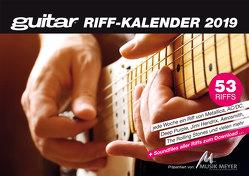 guitar-Riffkalender 2019