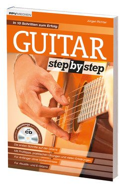 Guitar Step by Step von Richter,  Jürgen