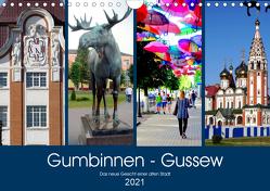 Gumbinnen – Gussew. Das neue Gesicht einer alten Stadt (Wandkalender 2021 DIN A4 quer) von von Loewis of Menar,  Henning