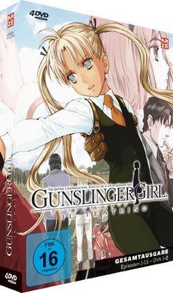 Gunslinger Girl il teatrino – Gesamtausgabe – DVD Box von Ishiodori,  Hiroshi