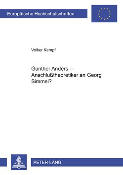 Günther Anders von Kempf,  Volker