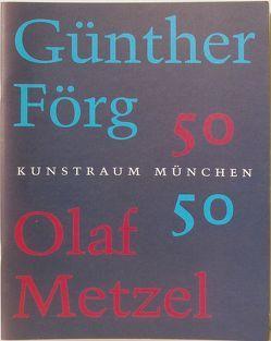 Günther Förg / Olaf Metzel von Horn,  Luise