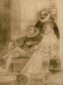 Gustav Klimt im Burgtheater von Rychlik,  Otmar
