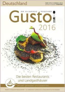 GUSTO Deutschland 2016 von Oberhäußer,  Markus J