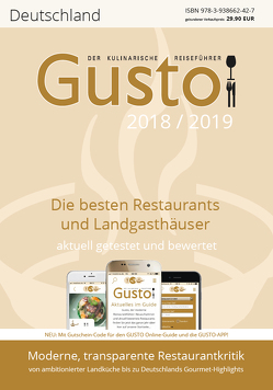 GUSTO Deutschland 2018/2019 von Oberhäußer,  Markus J
