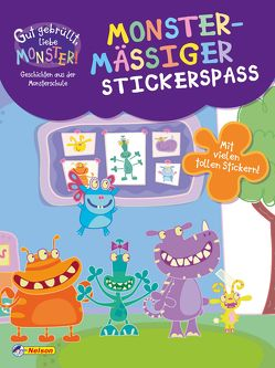 Gut gebrüllt, liebe Monster: Gut gebrüllt, liebe Monster! – Monstermäßiger Stickerspaß