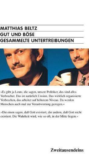 Gut und Böse von Beltz,  Matthias, Kühn,  Volker