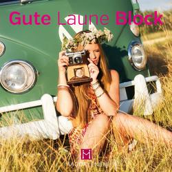 Gute Laune Block Mädchen mit Fotoapparat
