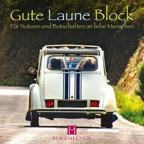 Gute Laune Block Oldtimer Ente von Paxmann,  Christine
