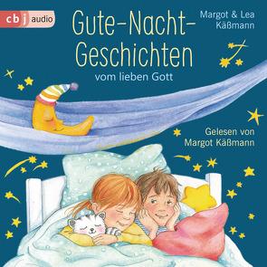 Gute-Nacht-Geschichten vom lieben Gott von Brockamp,  Melanie, Käßmann,  Lea, Käßmann,  Margot