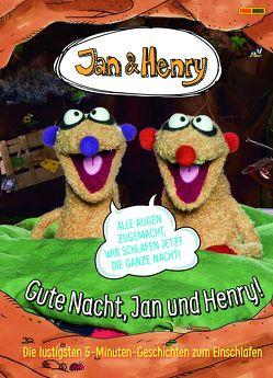 Gute Nacht, Jan und Henry! von Morar-Haffle,  Carsten, Panini, Reinl,  Martin, Weber,  Claudia