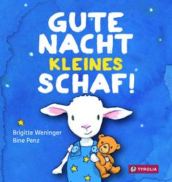 Gute Nacht, kleines Schaf von Penz,  Bine, Weninger,  Brigitte
