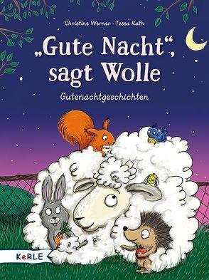 """""""Gute Nacht!"""", sagt Wolle von Rath,  Tessa, Werner,  Christine"""