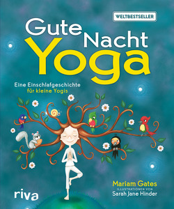Gute-Nacht-Yoga von Gates,  Mariam, Hinder,  Sarah Jane