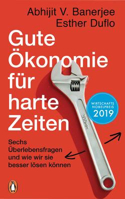 Gute Ökonomie für harte Zeiten von Banerjee,  Abhijit V., Duflo,  Esther, Schmidt,  Thorsten