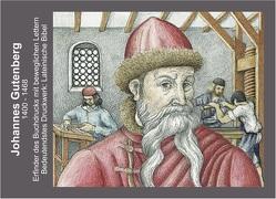 Gutenberg / Johannes Gutenberg Lenticular von Winkler,  Ludwig