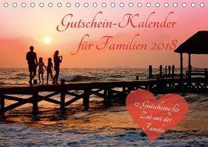 Gutschein-Kalender für Familien 2018 (Tischkalender 2018 DIN A5 quer) von Lehmann (Hrsg.),  Steffani