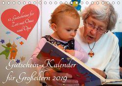 Gutschein-Kalender für Großeltern 2019 (Tischkalender 2019 DIN A5 quer) von Lehmann (Hrsg.),  Steffani