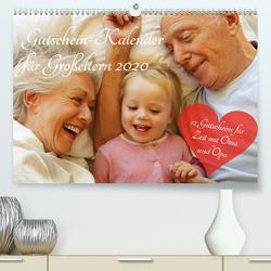 Gutschein-Kalender für Großeltern 2020 (Premium, hochwertiger DIN A2 Wandkalender 2020, Kunstdruck in Hochglanz) von Lehmann (Hrsg.),  Steffani