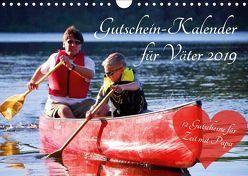 Gutschein-Kalender für Väter 2019 (Wandkalender 2019 DIN A4 quer) von Lehmann (Hrsg.),  Steffani