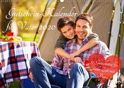Gutschein-Kalender für Väter 2020 (Wandkalender 2020 DIN A2 quer) von Lehmann (Hrsg.),  Steffani