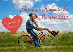 Gutschein-Kalender für Verliebte 2020 (Wandkalender 2020 DIN A2 quer) von Lehmann (Hrsg.),  Steffani