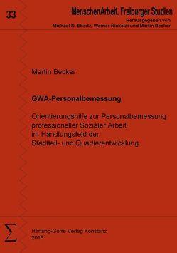GWA-Personalbemessung von Becker,  Martin