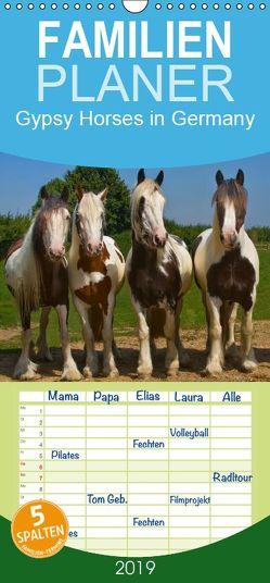 Gypsy Horses – Familienplaner hoch (Wandkalender 2019 , 21 cm x 45 cm, hoch) von weh-zet
