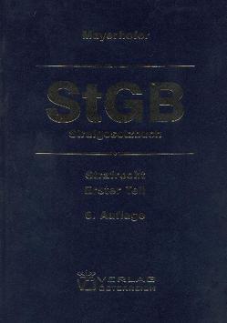 HA II/11 Strafgesetzbuch von Mayerhofer,  Christoph