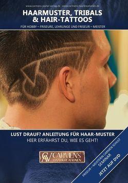 Haarmuster, Tribals & Hair-Tattoos von Schult,  Carmen