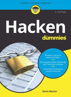 Hacken für Dummies von Beaver,  Kevin, Franken,  Gerhard