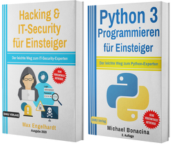 Hacking & IT-Security für Einsteiger + Python 3 Programmieren für Einsteiger (Taschenbuch) von Bonacina,  Michael, Engelhardt,  Max